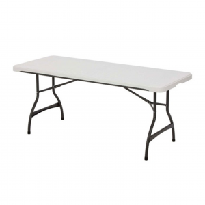 rectangular plastic folding table
